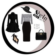 """""""SheIn"""" by merima-sisic ❤ liked on Polyvore featuring Mat, Mulberry, Topshop, women's clothing, women, female, woman, misses and juniors"""