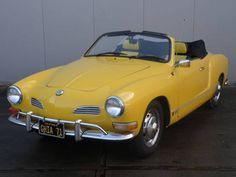 Classic Car News Pics And Videos From Around The World Volkswagen Karmann Ghia, Karmann Ghia Cabrio, Karmann Ghia Convertible, Yellow Car, Vw Cars, Retro Cars, Vintage Cars, Antique Cars, Porsche