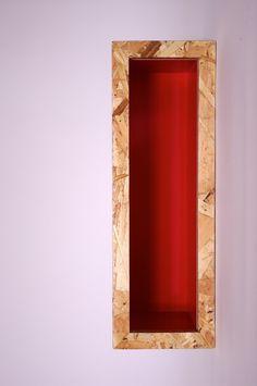 La niche rouge - L'autre Atelier - Ébéniste à Montréal