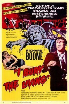 I Bury The Living....1958 starring Richard Boone