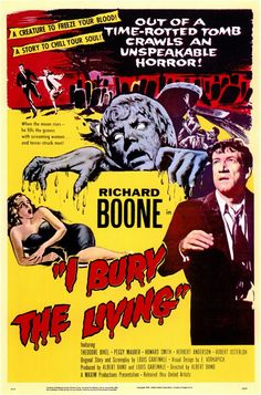 I Bury The Living....1958 starring Richard Boone
