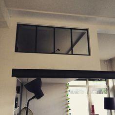 Cloison vitrée dans un loft Made in Chineur.