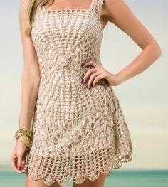 Vestido Crochet - 14330137   enjoei :p