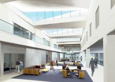 New School Of Business Interior Design