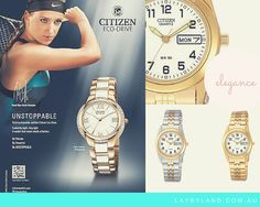 Citizen Watches for Women when worn brings out that certain elegance and sophistication in you! From $4 per week at http://www.laybyland.com.au/fashion-and-beauty/watches/ladies-watches?brand=citizen  #Citizen #Watch #ShopSmart #laybyland