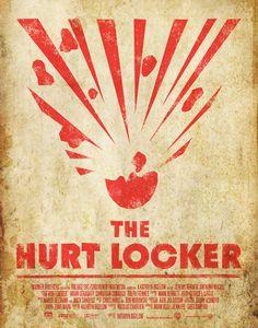 The Hurt Locker.  2009.  Alternative design by Ben Heymann.