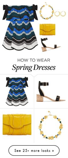 """""""Simple spring/summer plus night look"""" by xtrak on Polyvore featuring Fendi, All Tomorrow's Parties, Khirma Eliazov and Tory Burch"""