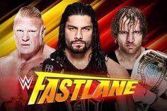 WWE Fastlane 2017 Match Card and Predictions