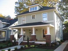 A new craftsman bungalow with historic charm. - Craftsman - Exterior - atlanta - by Brooks Ballard