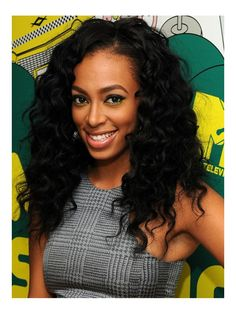 Stock Solange Wavy Human Hair Full Lace Wig-Wavy-wst032 - Shop by Hairstyle - DivasWigs.com