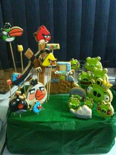 Angry Birds cookies!