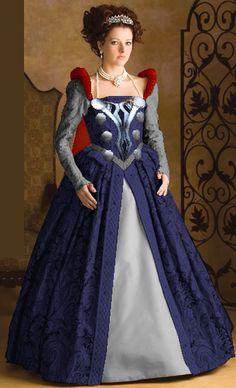 Thor gown concept, using Simplicity 3782