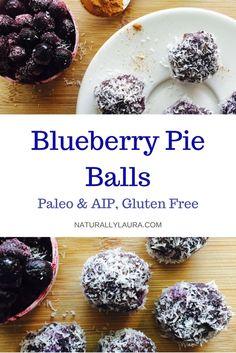 Blueberry Pie Balls