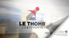 Le Thomb Compuserve - Jogja - Indonesia Pesanan / Bisnis logo pertama kali pertengahan tahun 1989