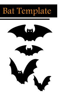Bat template to cut out halloween cut out templates class bat pumpkin carving template pronofoot35fo Choice Image