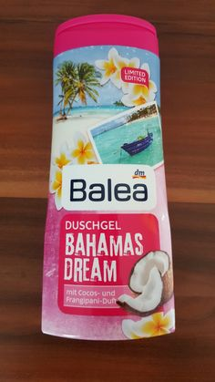 Hy Beauty´s,   da habe ich doch Gestern was neues entdeckt von Balea,eine Neue Limited Edition, Bahamas Dream,selbstverständlich sofort mit ... Dm Balea, Shower Gel, Soaps, Lip Balm, Up, Unicorn, Shampoo, Bottle, Nails
