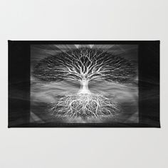 Tree of Light Area & Throw Rug by Amelia  Carrie - $28.00