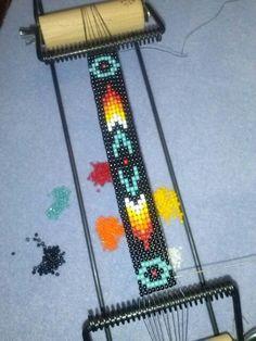 Bead loom by hellokittytwo