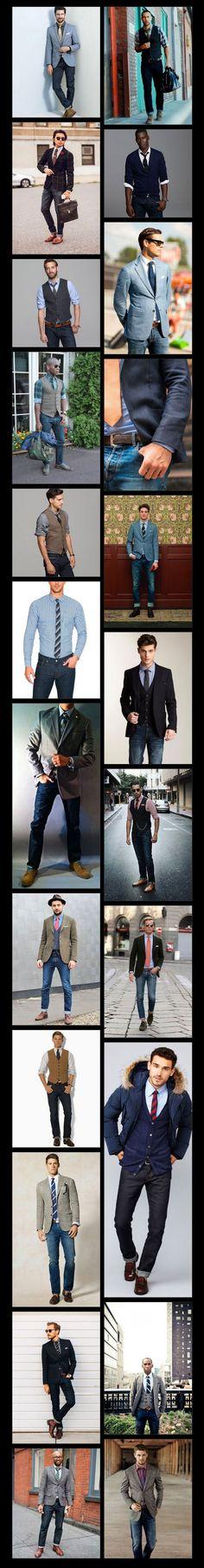 Aparência modelo masculino de roupa para homens