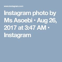 Instagram photo by Ms Asoebi • Aug 26, 2017 at 3:47 AM • Instagram