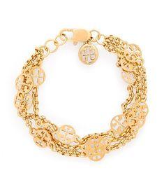 Multi-strand Logo Bracelet | Womens Bracelets | ToryBurch.com