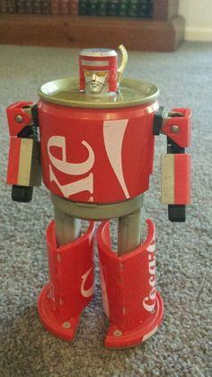 Coca Cola transforming can super rare