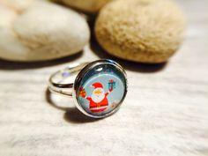 """Ringe - Glasperlen-Ring """"Weihnachtsmann"""" - ein Designerstück von Soulmate-Works bei DaWanda"""