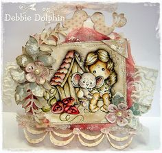 Magnolia cards by Debbie: Tilda With Millie The Mouse