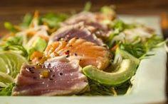 Jenny's Salmon and Tuna Tataki