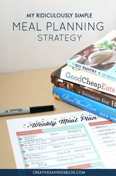 You don't have to feel stuck with only ONE form of meal planning! This concept allows for loads of flexibility and the freedom to choose each meal based how busy your day is, or tastes you're craving. Includes a FREE meal planning printable! Planning Menu, Planning Budget, Meal Planning Printable, Make Ahead Meals, Freezer Meals, Easy Meals, Cheap Meals, Frugal Meals, Diy Spring