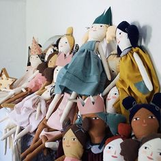 Pretty pile of #mermagdolls