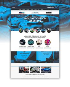 Business website of the day by Business Marketing 360®: commercialfleetgraphics.com - handcrafted by Matt Timmons, Ryan Howerter, Tim Barber and Ashley Mount