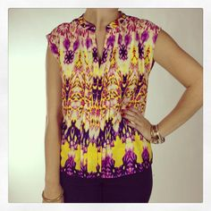Babazon Pleated Top, $53 xoxo this look is shopping in store or at www.popintotheshop.com