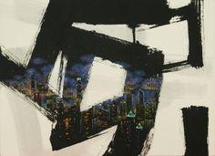 """Saatchi Art Artist Jieun Park; Painting, """"A little talk-Hong Kong"""" #art"""
