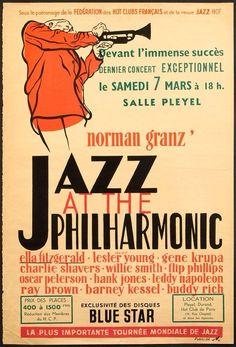 Norman Granz JATP Poster