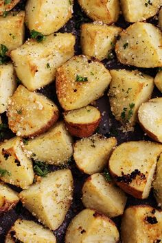 parmesangarlicroastedpotatoes