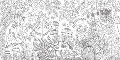 """""""Secret Garden"""": Ein Malbuch für Erwachsene erobert die Welt - BRIGITTE MOM                                                                                                                                                     Mehr"""