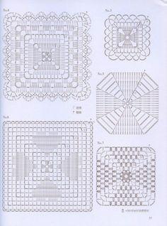 Gallery.ru / Фото #58 - Crochet Lace - nezabud-ka