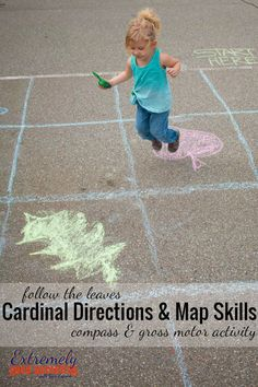 Introduce cardinal directions, map skills, compass orienteering, & even intermediate and ordinate points with this interactive game for young kids to enjoy.