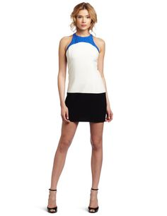 ABS by Allen Schwartz Women's Color Block Sheath Dress  where can i find dresses  http://wherecanifinddresses.com