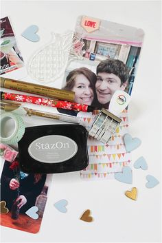 This scrapbook is so cute. I love how it uses both Project life ideas and some new ones!