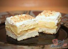 Cake Recipes, Dessert Recipes, Czech Recipes, Pavlova, Sweet And Salty, Sweet Desserts, Sweet Tooth, Sweet Treats, Cheesecake