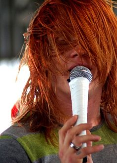 Aaron Gillespie makes ginger look good
