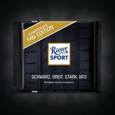 RITTER SPORT Fake Schokolade Schwarzfahrer-Edition