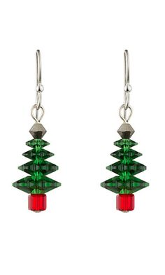 Jewelry Design - Earrings with Swarovski® crystals - Fire Mountain Gems and Beads