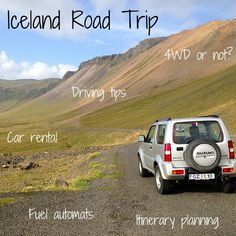 Driving in Iceland – Video + Rules + Tips + Rentals Travel Guide Iceland: information, advice and tips on car rental, itinerary planning and driving Iceland Road Trip, Iceland Travel, Iceland Roads, One Way Car Rental, Travel Guides, Travel Tips, Iceland Adventures, Driving Tips, Voyage Europe