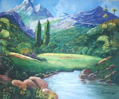 Landscape, Painting, Scenery Paintings, Art, Scenery, Painting Art, Landscape Paintings, Paintings, Paint