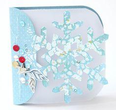 Snow Card - Scrapbook.com