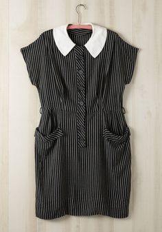 Vintage Oxford Calma' Dress in Plus Size   Mod Retro Vintage Vintage Clothes   ModCloth.com