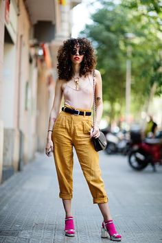 On the Street…What They're Wearing in Barcelona, Spain (The Sartorialist)